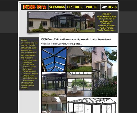 aa2221c284405d Exemple de création site Internet Reims   conception et pose de vérandas,  portes, fenêtres