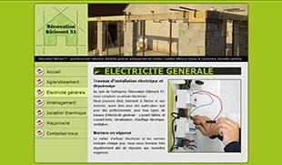 Exemple De Creation Site Internet Renovation Batiment Electricite